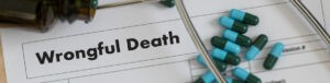 starting a wrongful death claim in Centerville